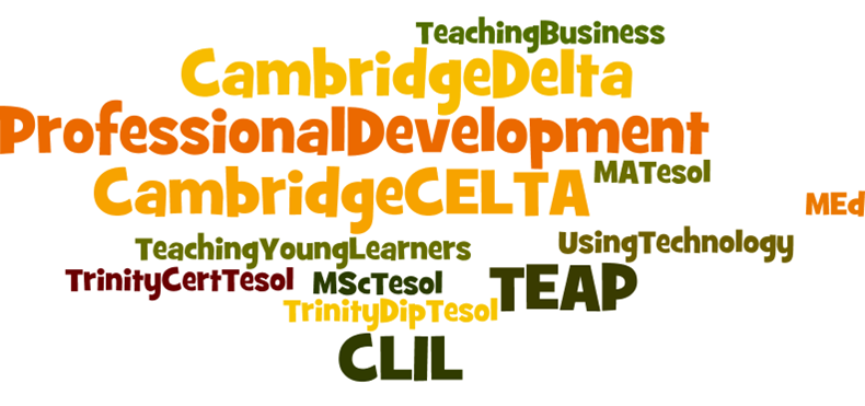 TESOL France - CPD survey for English teachers in France